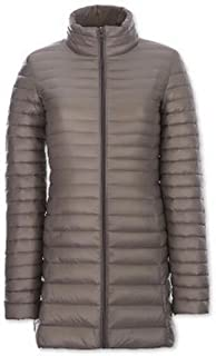 BOZEVON Women Oversize Down Jacket Women Winter Warm Long Sections Down Coat Soft and Light