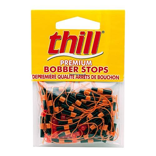 Thill Floats Premium Bobber Stops, Fluorescent Orange