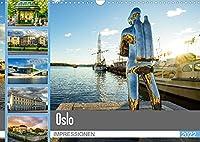 Oslo Impressionen (Wandkalender 2022 DIN A3 quer): Zu Besuch in der Hauptstadt von Norwegen (Monatskalender, 14 Seiten )