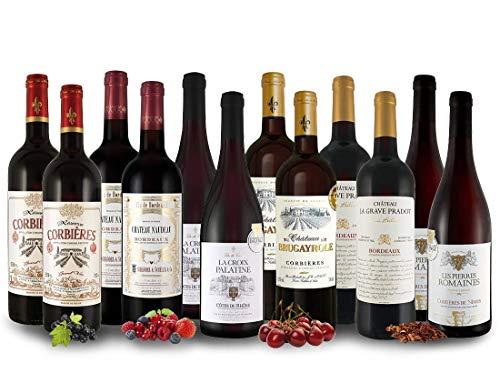 Französisches Rotwein-Topseller-Probierpaket