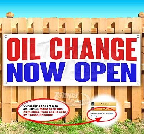 Oil 公式サイト Change Now Open 初回限定 13 Heavy-Duty Non-Fabric Banner Vinyl oz