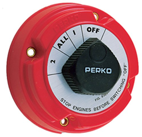 Perko 8501DP Medium Duty Battery Selector Switch