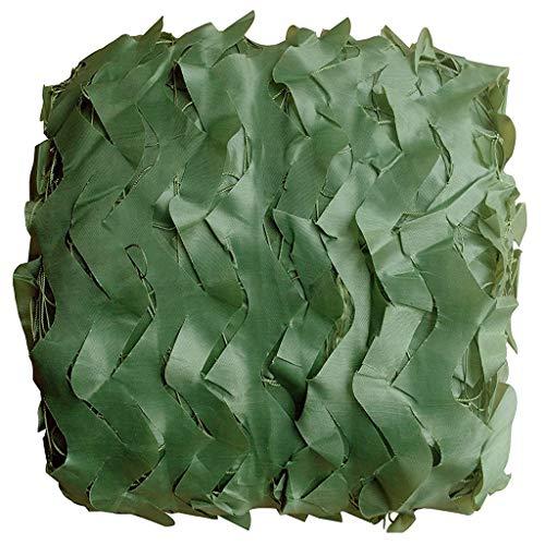 Tentzeil, camouflagennet, puur groen, zoeker van dikke stof van polyester Oxford 210D, kweekt, verborgen avontuur in jungle, campingdeken, achtergronden, decoratie, 4x6m