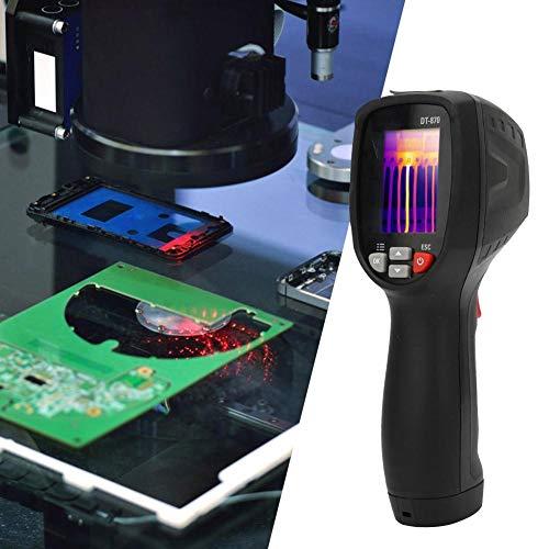 Caméra d'imagerie thermique, appareil de mesure thermique infrarouge industriel portable, capteur de testeur d'électricité, thermomètre numérique, instrument de mesure avec écran couleur 2 pouces