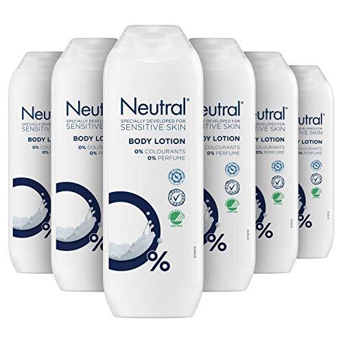 Neutral Bodylotion Parfumvrij 6 x 250 ml Voordeelverpakking
