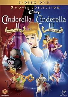 Cinderella 2 Movie Collection: (Cinderella II: Dreams Come True / Cinderella III: A Twist In Time )