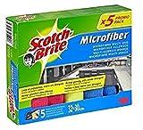Scotch-Brite Bayeta de Microfibra, Paño multiusos, Quita el polvo y la suciedad,...