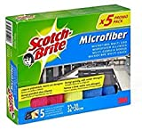 Scotch-Brite Bayeta Microfibras Premium, 5 Unidades