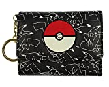 Bioworld Pokemon Pikachu AOP Mini Tri-Fold Wallet
