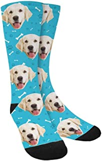 Custom Dog Socks for Women and Men 15.35 inch