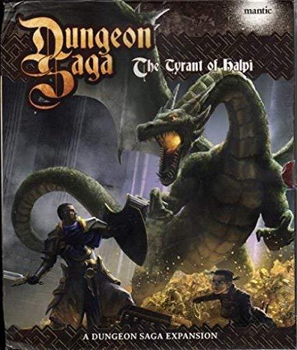 Mantic Dungeon Saga Der Tyrann von Halpi (Expansion-englische Ausgabe), MGDS06