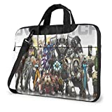 Overwatch Laptop Shoulder Messenger Bag,Waterproof Laptop Case Fits For15.6 Inch Laptop and Tablet,in Fashion Business Travel Laptop Case