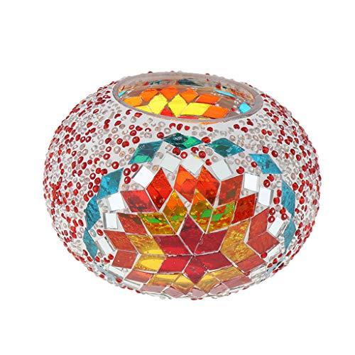 Lámpara de Cristal Estilo Turco Techo Ventilador Accesorios