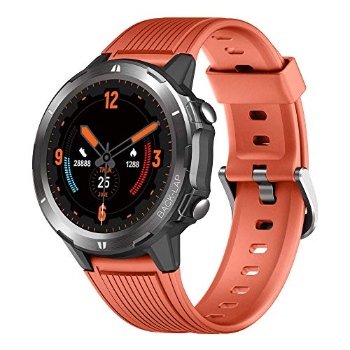 Smart Watch Fitness Tracker with Heart Rate Monitor, Smartwatch for Android iOS Phones 5ATM Waterproof Activity Tracker Sleep Monitor Yoga 1.3