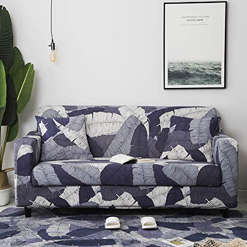 Funda de sofá Moderna geométrica a Prueba de Polvo elástica Flor sofá Toalla Muebles de Sala Cubierta Protectora A18 3 plazas