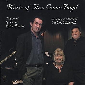 MUSIC OF ANN CARR-BOYD