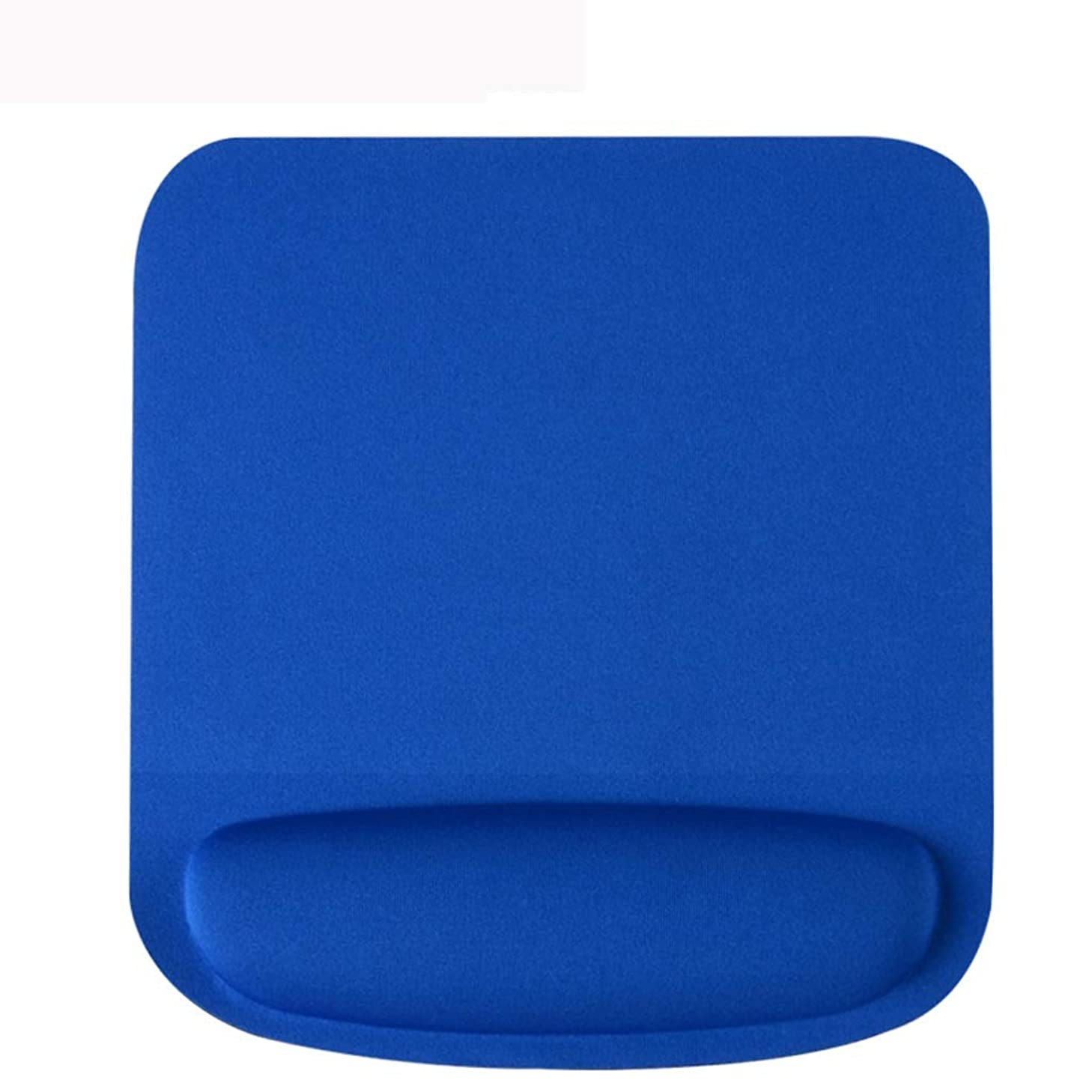 LLSDLS Memory Cotton Computer Game Mouse Pad Wrist Pad Padded Simple Office 3D Stereo Wrist Pad Rubber Boys and Girls Mouse Pad (Color : Blue)