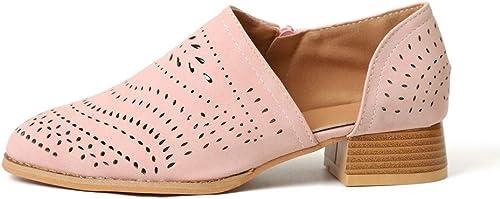 Isolion Femmes paniers FonctionneHommest Fitness Chaussures de Sport Noir Rose Violet 4cm EU35-EU42