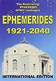 Éphémérides 1921-2040 - A zéro heure