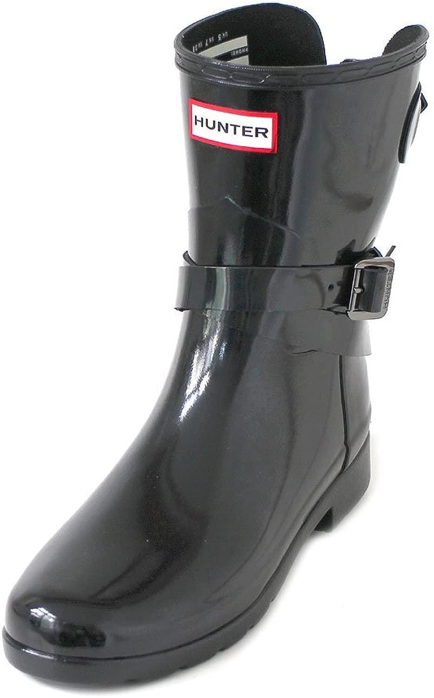 W Original Refined ADJ Short Short Short Ankle Strap Gloss schwarz b91