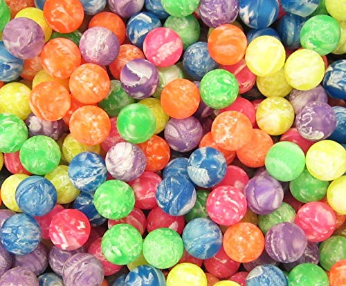 Sale!! 75 NEW MARBLE SUPER HIGH BOUNCE BALLS 27MM 1 HI BOUNCY SUPERBALL CAT TOY #rybry