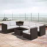 Zoom IMG-1 outsunny set mobili da giardino