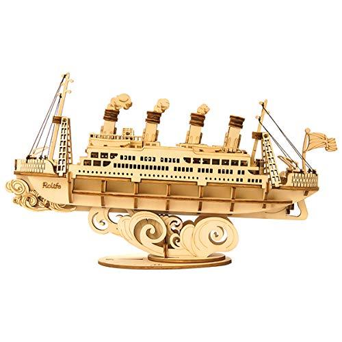 Rolife Puzzle 3D Maqueta Cruise Barco para Adultos y Niños