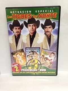 Los Tigres Del Norte 3 Peliculas: La Jaula De Oro/La Puerta Negra/Tres Veces Mojado