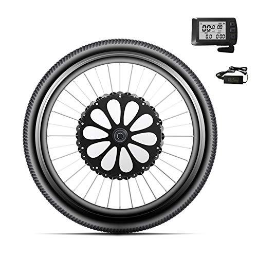 Gliery Kit De Motor De Rueda Delantera De Bicicleta Eléctrica, Conversión De...