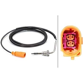 Hella 6pt 014 494 041 Sensor Abgastemperatur 2 Polig Geschraubt Auto