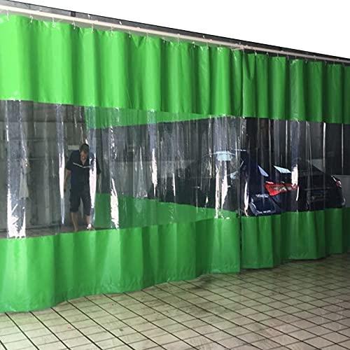 GDMING Cortinas De Patio, Tarea Pesada Impermeable Lona Alquitranada, Panel De Privacidad/Parasol De Pared Lateral, por Exterior Terraza De Madera Jardín Tienda con Ojales, 50 Tamaños