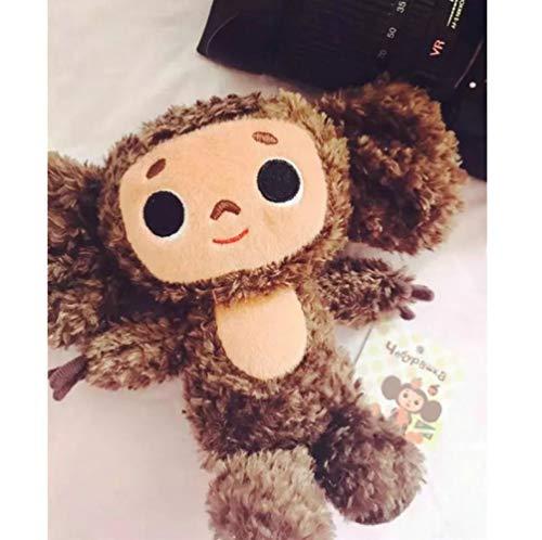 ZzSTX Kuscheltier Russland Big Ears AFFE Mit Hut Plüschtier Cheburashka Weiche Puppe Russland Anime Spielzeug Baby Kinder Schlaf Beschwichtigen Puppe 18Cm