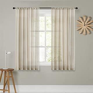 Best 72 long sheer curtains Reviews