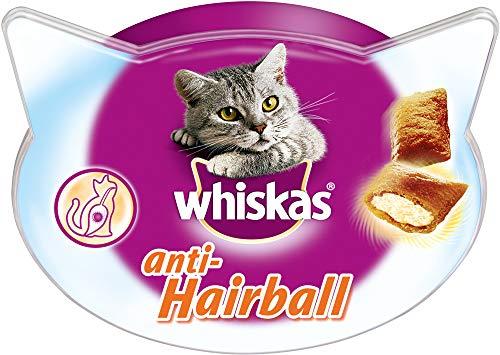 Whiskas Katzensnacks Katzenleckerli Anti-Hairball gegen Haarballen, 1 Packung (1 x 72g)