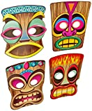This item is a great value! 4 per package Luau party item Masks for festive occasions High Quality