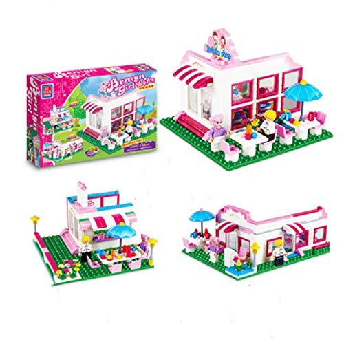Puzzle GCX- Mädchen Montage Princess House Kinder Educational Rechtschreibung Toy Serie Assembled Villa Interessant (Color : Girls Boutique)