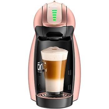 Cafetera con cápsula de pingüino de oro rosa Cafetera automática de color rosa dorado con temporizador Máquina de café con espuma de leche Máquina de café con cápsula: Amazon.es: Hogar