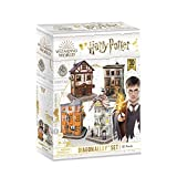 World Brands - Harry Potter - Set del Callejón Diagón Puzzles 3D, Kit de Construcción, Multicolor, DS1009H