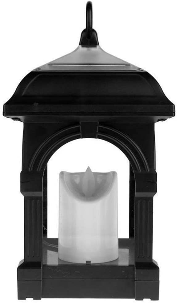 Candle Lantern Spring new work one after another Solar Vintage Decorative Reservation Pillar LED with