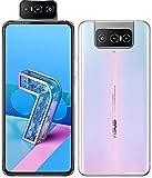 Asus Zenfone 7 Pro 5G (ZS671KS) 8GB+256GB / グローバル版/Dual SIM/Qualcomm Snapdragon 865+ / Motorized flip-upセルフィーカメラ/日本語対応/SIMフリー (Pastel White/パステルホワイト)