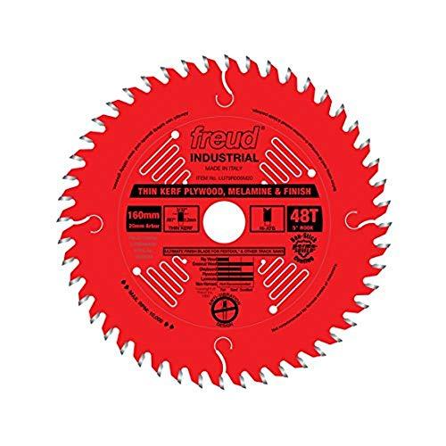 Freud LU79R006M20 160mm x 48T Thin Kerf Ultimate Plywood & Melamine Blade