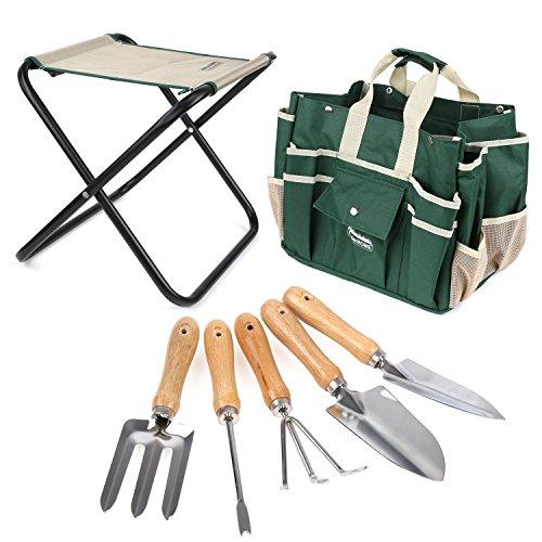 FIXKIT Kit de Herramientas de Jardín...