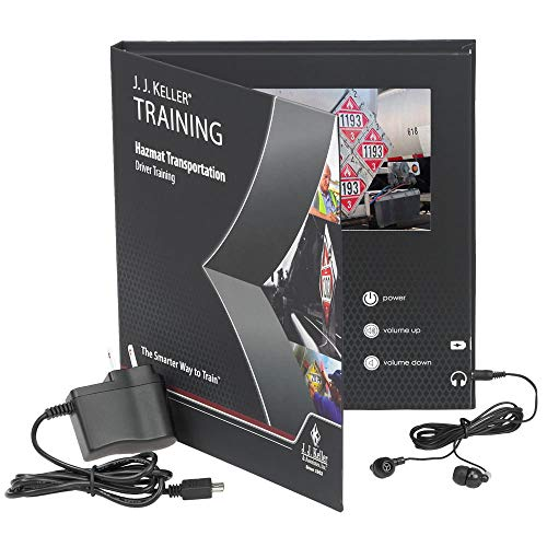 Hazmat Transportation: Driver Training English Video Training Book - J. J. Keller - Provides Drivers with DOT-Required Hazardous Materials Training & Includes Changes from HM-215N Final Rule
