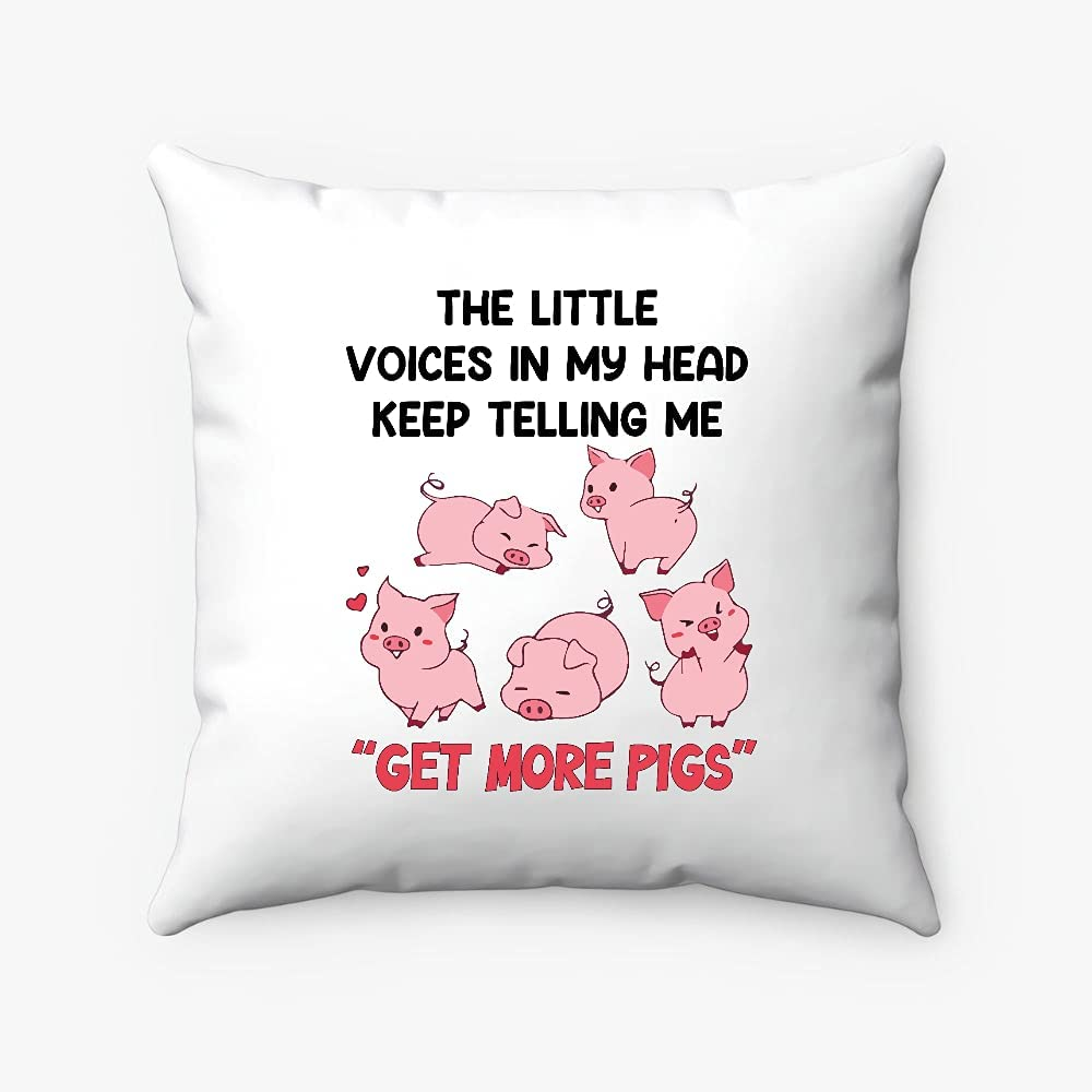 The Little Voices in Our shop OFFers the best service My Head Keep More Me Spun Los Angeles Mall Pigs Get Telling