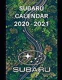 "Subaru Calendar 2020-2021: Weekly Planner Calendar 2020 - 2021 Logbook Diary Gift Todo Memory Book Budget Planner Gift | Cars, Men, Woman, Girls & Boys, Autos | 8.5"" x 11"" (Cars calendar 2020-2021)"