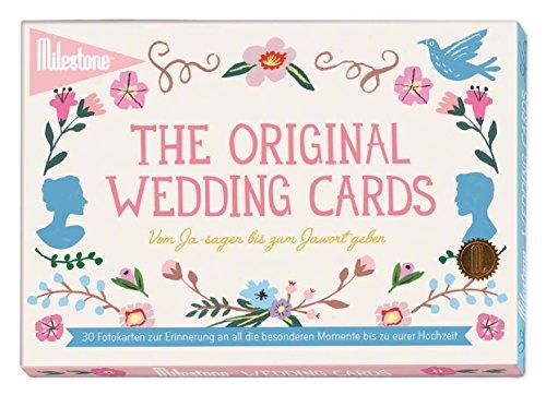 Milestone Wedding Hochzeit-Erinnerungskarten für all die besonderen Momente bis zu eurem großen Tag in deutscher Sprache