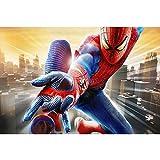 AMY-ZW Marvel Spiderman Poster Jigsaw Puzzle 300/500/1000 Pièces Peinture Film Puzzle en Bois Cadeaux Décompression De Jouets Éducatifs for Enfants (Color : E, Size : 1000pc)