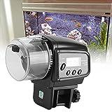 Nannday 【𝐒𝐞𝐦𝐚𝐧𝐚 𝐒𝐚𝐧𝐭𝐚】 Dispensador del alimentador de los Pescados, máquina de alimentación automática electrónica de Digitaces LCD para el Uso en el hogar del Acuario