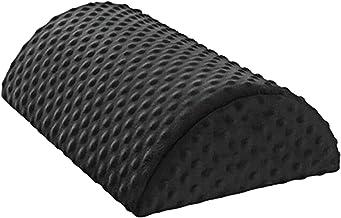 LOVIVER Almofada ergonômica para descanso de pés sob a com alto rebote Ergonômico espuma antiderrapante de meio cilindro A...