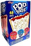 ケロッグKellogg's Frosted Variety Fruit Pop Tarts /ポップタルト フルーツバラエティ 48 pack (5LB 8oz)(2.4 Kg) 並行輸入品